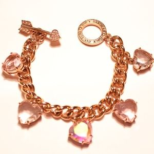Juicy Couture Multi Heart Stone Bracelet